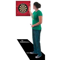 Kings Dart® Dart-Set mit Turnier-Dartmatte